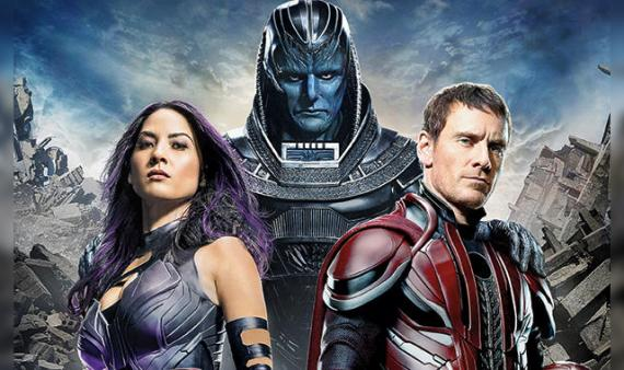 Recorte de la portada de Entertainment Weekly dedicada a X-Men: Apocalypse (2016)