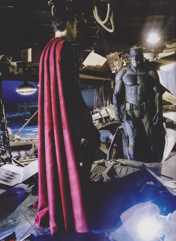 Imagen del set de Batman v Superman: El Amanecer de la Justicia (2016)