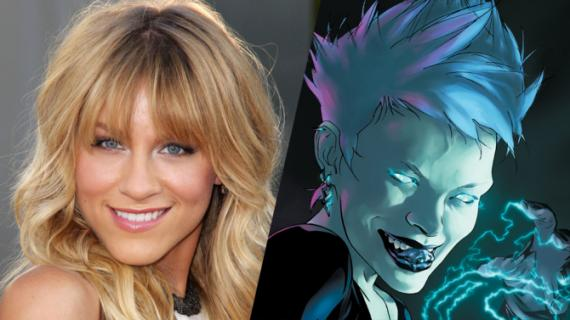 Brit Morgan interpretará a Livewire en Supergirl (2015 - ?)