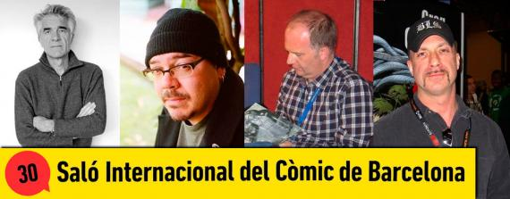 Baru, Greg Rucka, Mark Buckingham y Greg Capullo estarán en el 30 Salón Internacional del Cómic de Barcelona