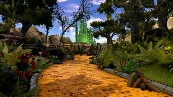 El mundo de Wizard of Oz en LEGO Dimensions (2015)