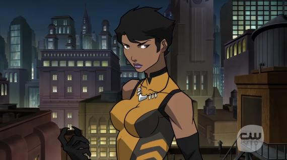 Captura de uno de los featurettes de Vixen