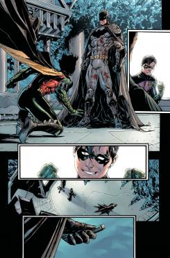 Página de Batman and Robin Eternal #1