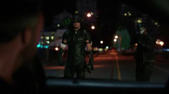 Captura del primer trailer de la cuarta temporada de Arrow