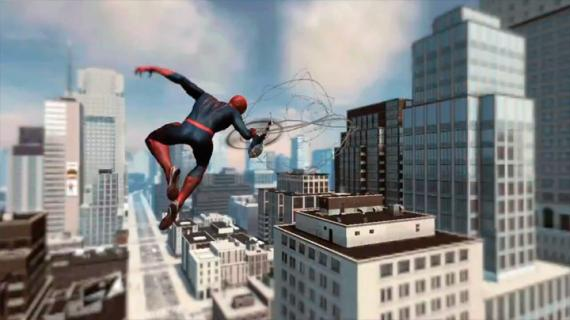 Captura del trailer del videojuego The Amazing Spider-Man (2012)