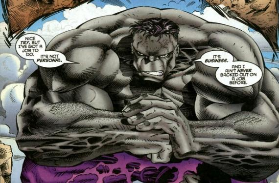 Hulk Gris / Fixit en los cómics Marvel