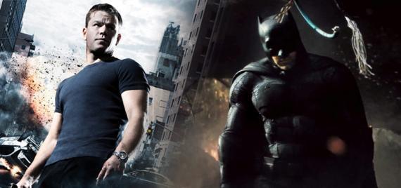 Jason Bourne y Batman