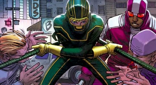 Imagen del cómic Kick Ass 2