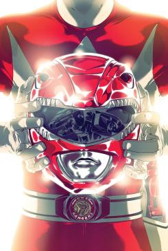 Portada del Red Ranger en Mighty Morphin' Power Rangers