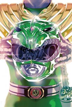 Portada del Green Ranger en Mighty Morphin' Power Rangers