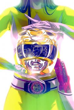 Portada de la Yellow Ranger en Mighty Morphin' Power Rangers