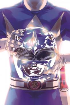 Portada del Blue Ranger en Mighty Morphin' Power Rangers