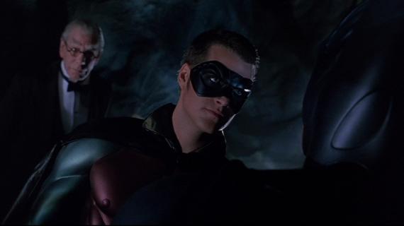 Chris O'Donnell como Robin en Batman Forever (1995)