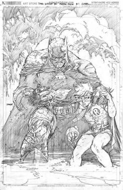 Primer vistazo a la portada alternativa de Dark Knight III: The Master Race hecha por Jim Lee
