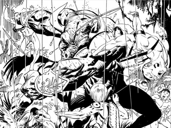 Vistazo al interior de Dark Knight III: The Master Race