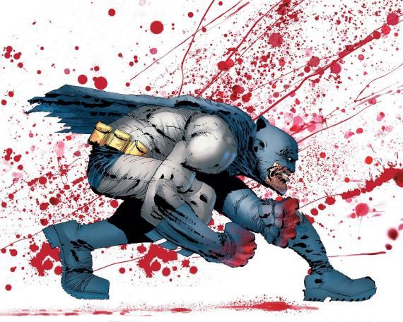 Portada alternativa de Dark Knight III: The Master Race por Frank Miller