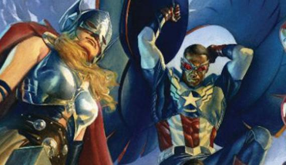 Thor y Capitán América en All-New, All-Different Avengers