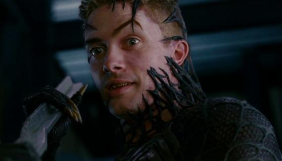 Topher Grace como Venom en Spider-Man 3 (2007)