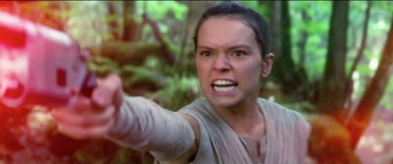 Captura del trailer de Star Wars: El Despertar de la Fuerza / Star Wars: The Force Awakens (2015)