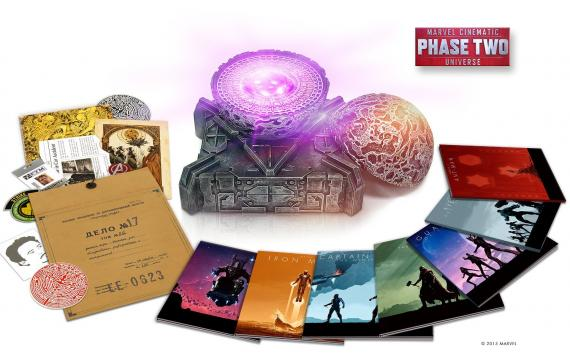 Imagen del set Marvel Cinematic Universe: Phase 2 Collection