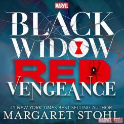 Portada de la novela de Marvel Black Widow: Red Vengeance (2016)