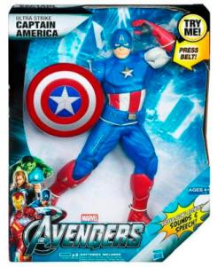 Ultra Strike Captain America, juguete de Hasbro de The Avengers (2012)