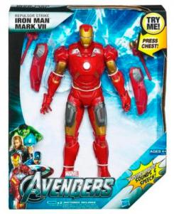 Repulsor Strike Iron Man Mark VII, juguete de Hasbro de The Avengers (2012)