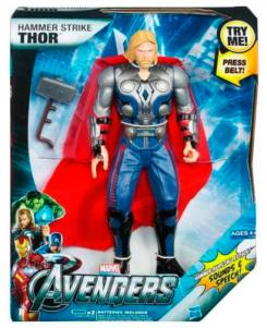 Mighty Strike Thor, juguete de Hasbro de The Avengers (2012)