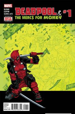 Portada de Deadpool and the Mercs For Money #1