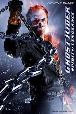 Póster no utilizado de Ghost Rider: Spirit of Vengeance (2012)