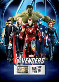 Imagen promocional de The Avengers (2012), de  Senitype Collectible Movie Tickets
