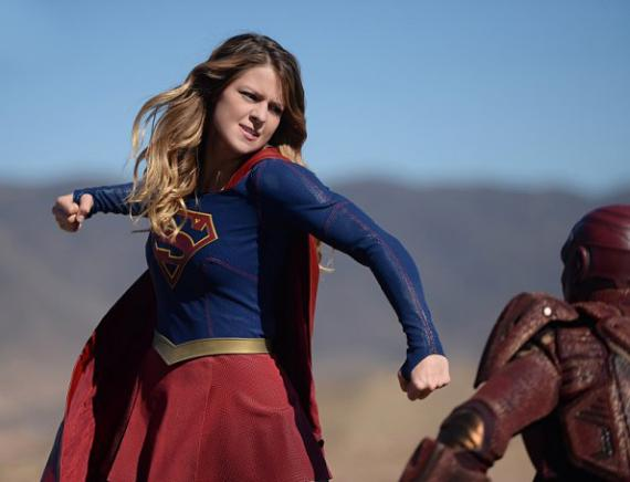 Imagen del sexto episodio de Supergirl: Red Faced