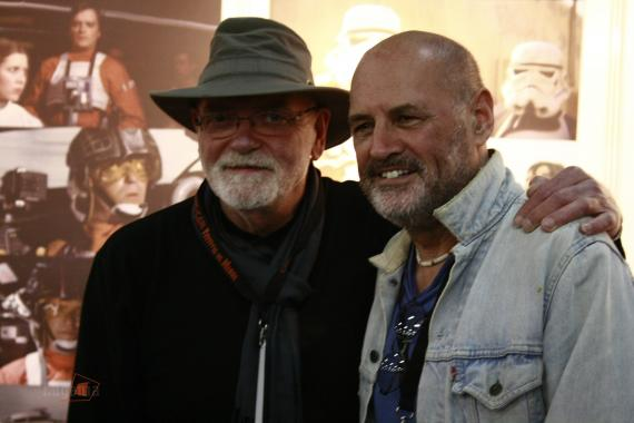 Angus MacInness y Anthony Forrest en la Comic-Can 2015