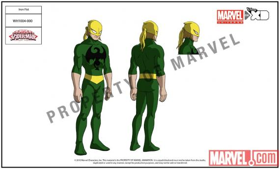 Iron Fist (Puño de Hierro) en Ultimate Spider-Man