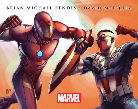 Brian Michael Bendis y David Marquez encargados de Civil War II para 2016