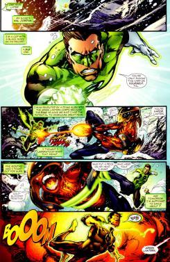 Green Lantern vol. 4 #10, dibujo por Ivan Reis