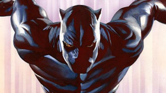 Pantera Negra / Black Panther por Alex Ross