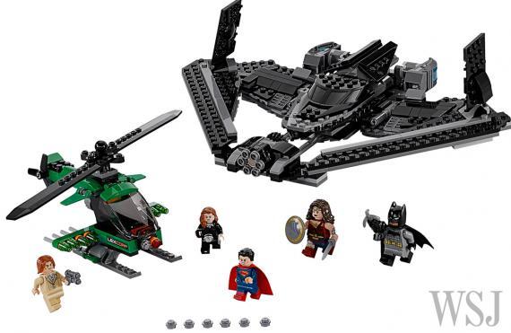 Set de LEGO de Batman v Superman: El Amanecer de la Justicia (2016)