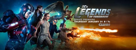 Banner de DC's Legends of Tomorrow