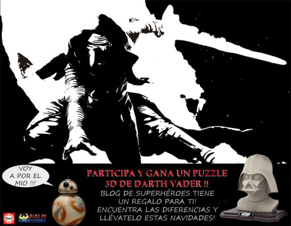 concurso star wars puzzle 3d educa