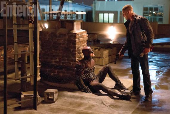 Imagen de la segunda temporada de Daredevil (2016), Punisher y Daredevil