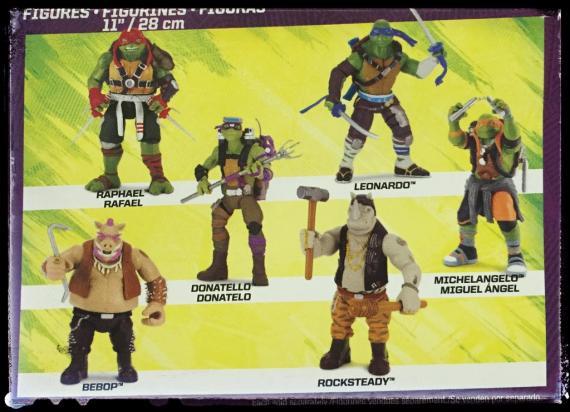 Figuras de Ninja Turtles: Fuera de las Sombras (2016)