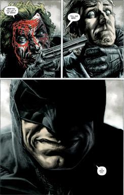Página de Joker de Brian Azzarello y Lee Bermejo