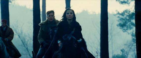 Captura del primer footage de Wonder Woman (2017)