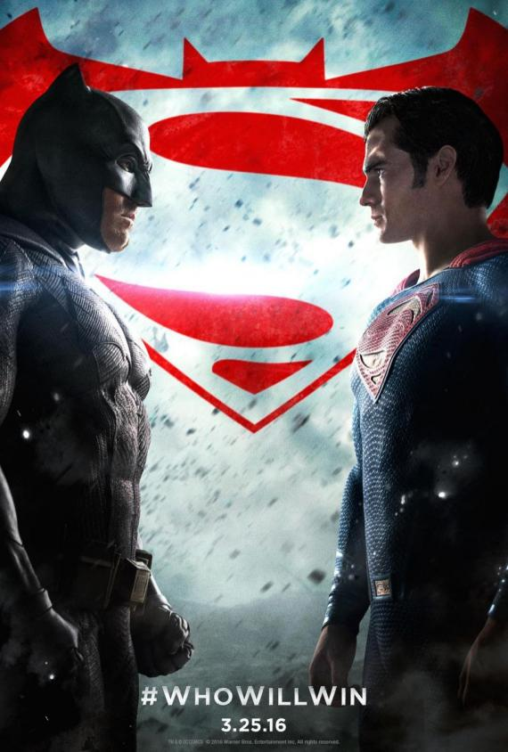 Nuevo poster de Batman v Superman: El Amanecer de la Justicia (2016)