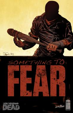 Portada de cómic The Walking Dead, Something to Fear #5