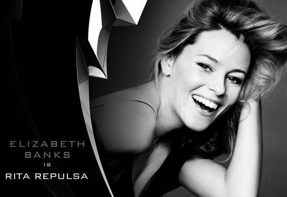 Elizabeth Banks será Rita Repulsa en el reinicio de Power Rangers