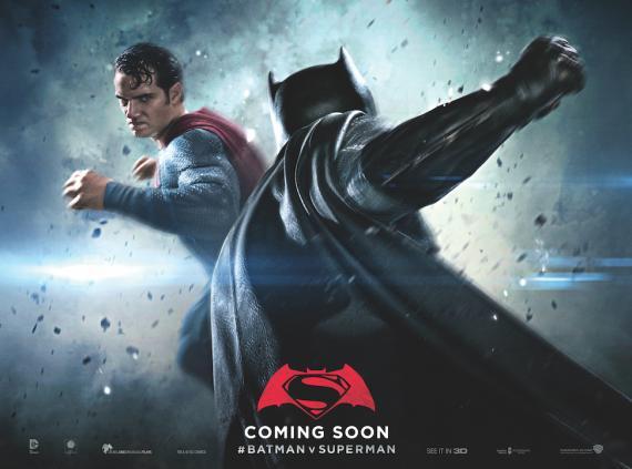 Poster de Batman v Superman: El Amanecer de la Justicia (2016)