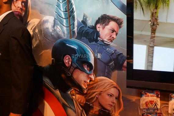 Promo art de Civil War en la Toy Fair