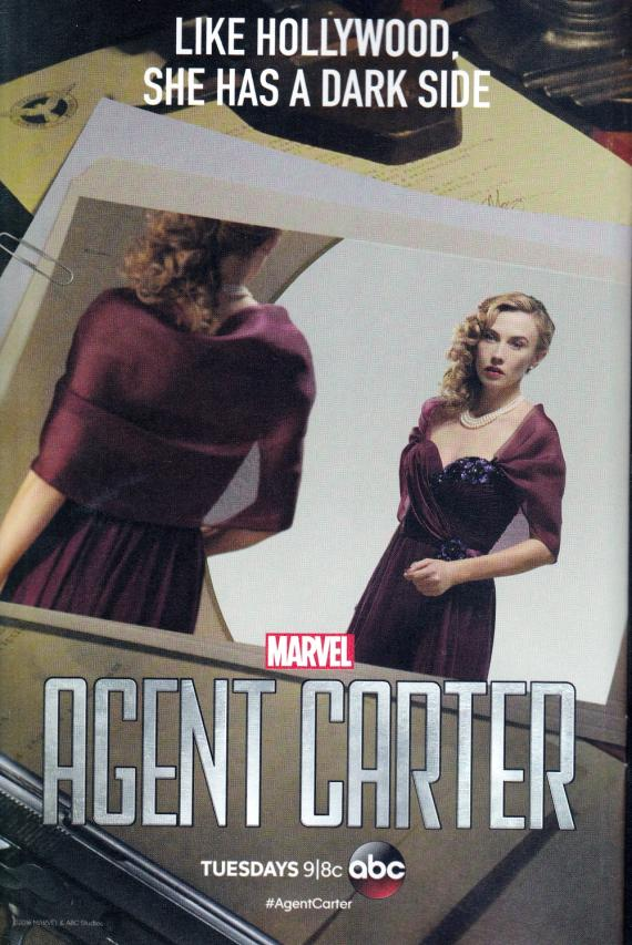 Póster promocional de 2x08: The Edge of Mystery y 2x09: A Little Song and Dance de Agent Carter (2016)